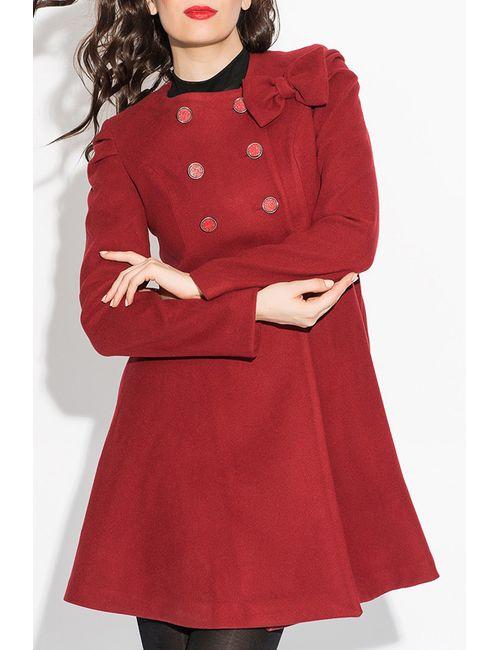Ironi | Женское Красное Пальто