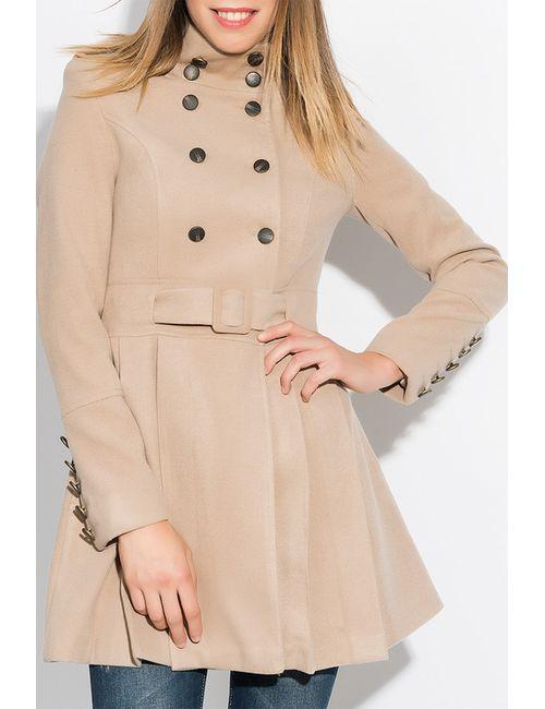 Ironi | Женское Бежевое Пальто