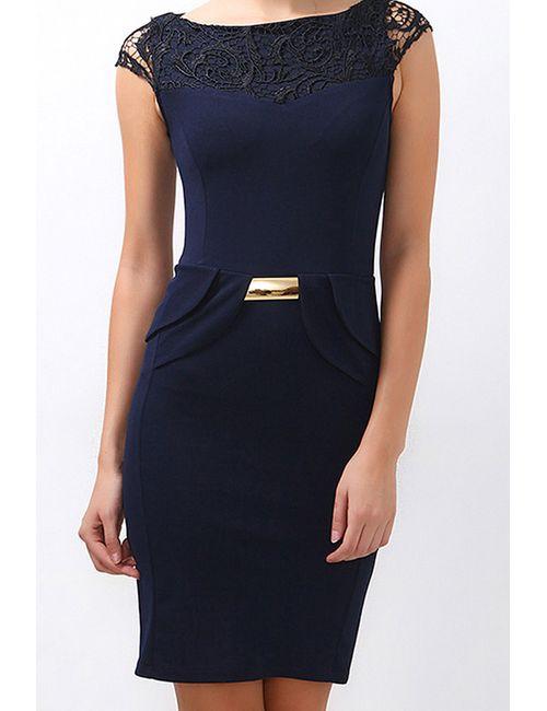 Boutiquen | Женское Синее Платье