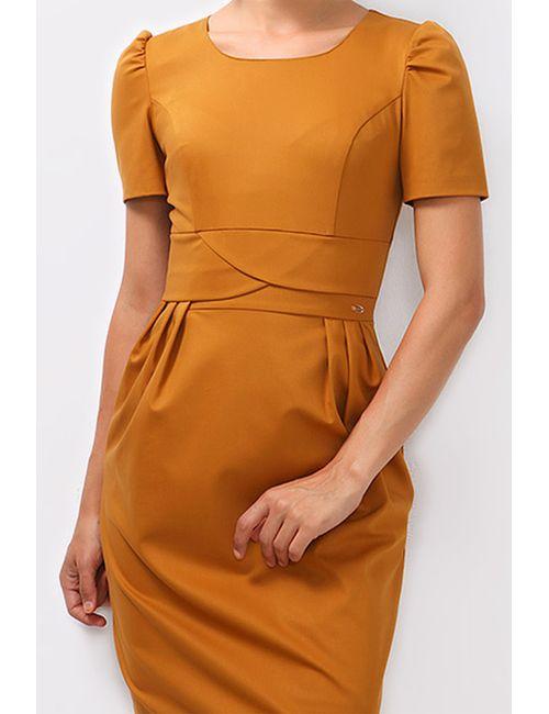 Boutiquen | Женское Оранжевое Платье