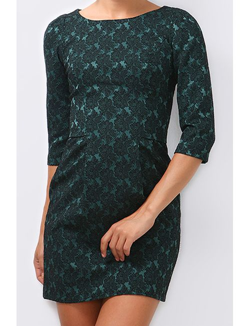 Boutiquen | Женское Зелёное Платье