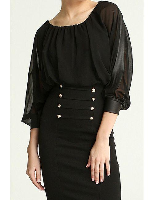 Boutiquen | Женское Чёрное Платье