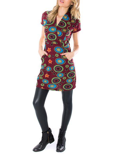 Purple Jam | Женское Многоцветное Платье