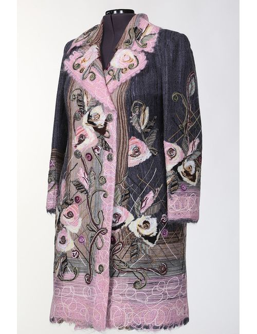 Yuko-Selena | Женское Розовое Пальто