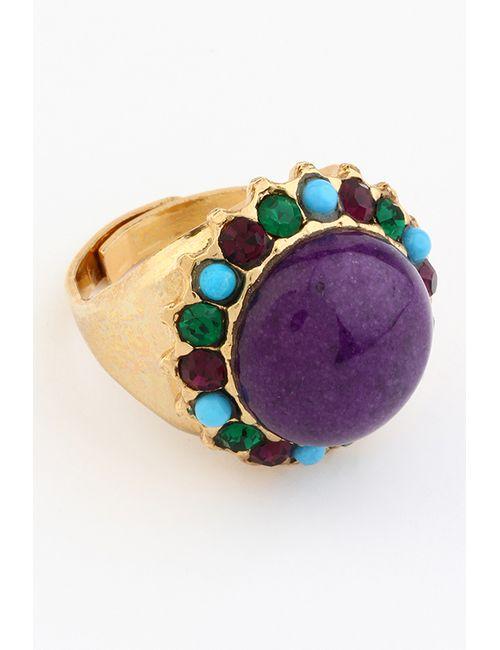 AMARO | Женское Многоцветное Кольцо
