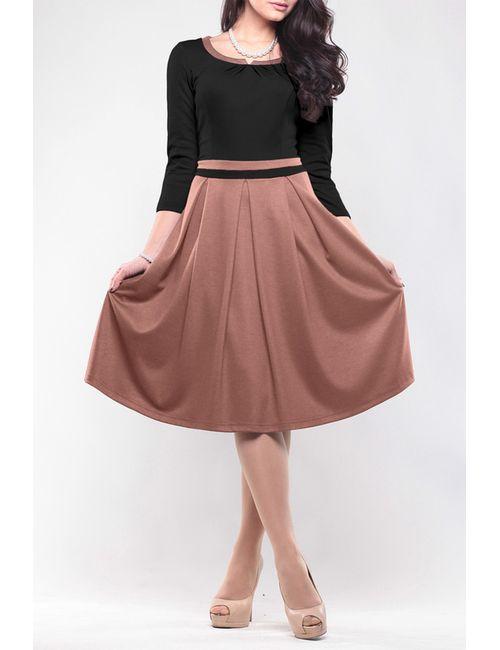 Maurini | Женское Коричневое Платье