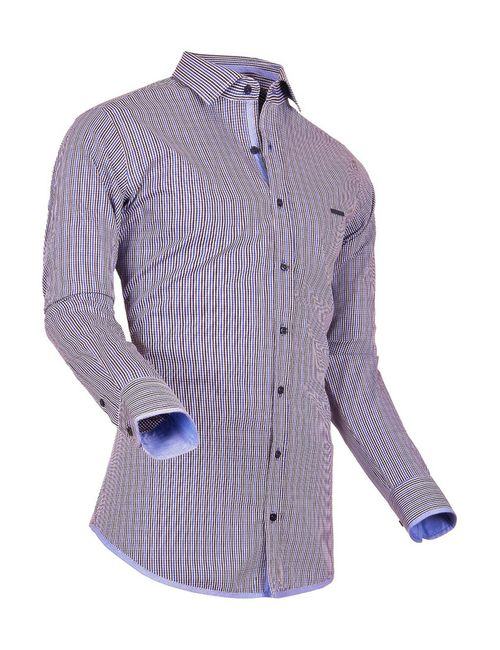 Pontto | Мужская Коричневая Рубашка