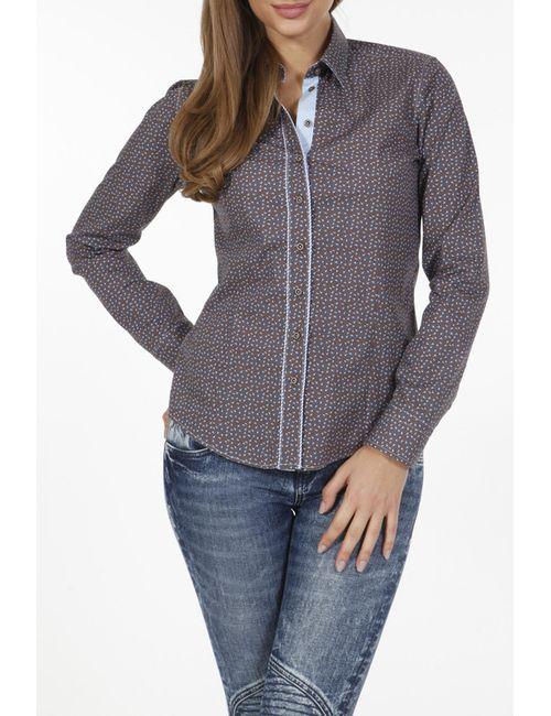 Pontto | Женская Коричневая Рубашка