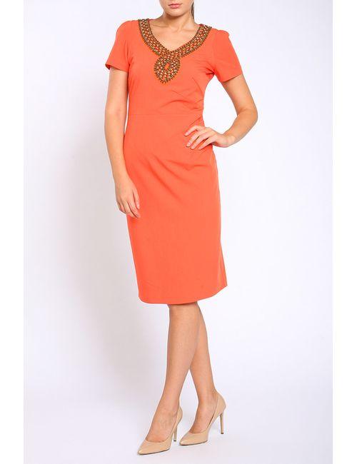 Collezione Di Ines | Женское Оранжевое Платье