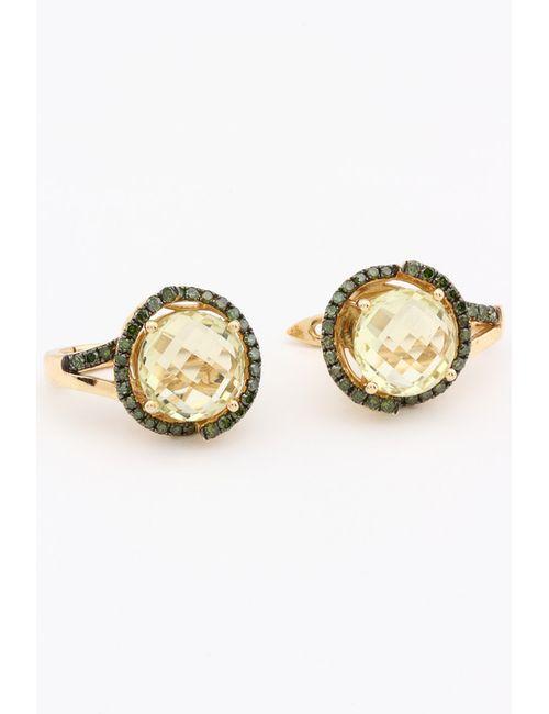 Magic Diamonds | Женские Жёлтые Серьги