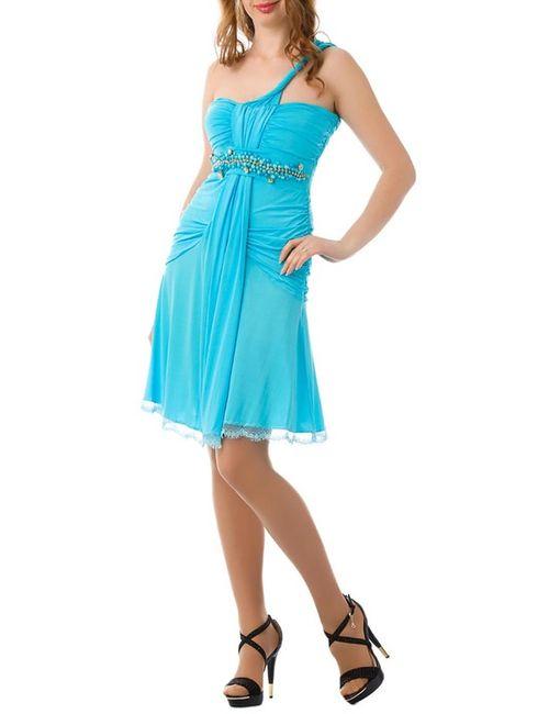 JO'ELLE | Женское Синее Платье
