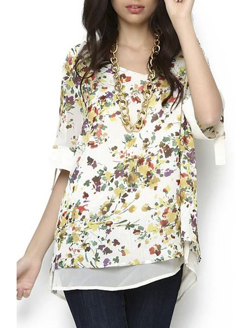 Ludomara fashion | Женская Многоцветная Блуза