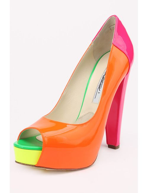 Brian Atwood | Женские Многоцветные Туфли