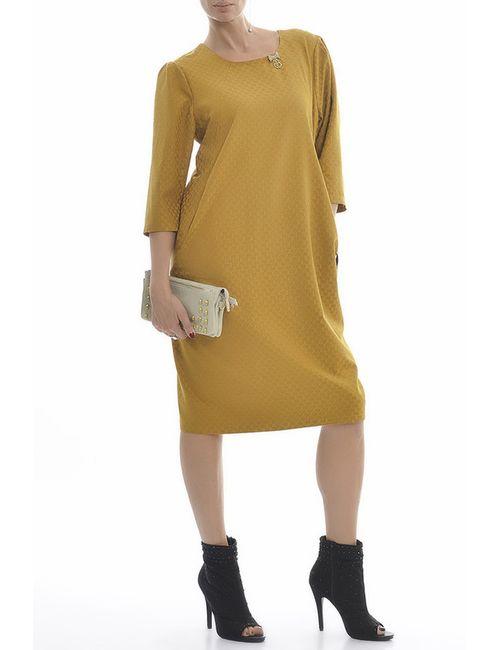 Zedd Plus | Женское Жёлтое Платье