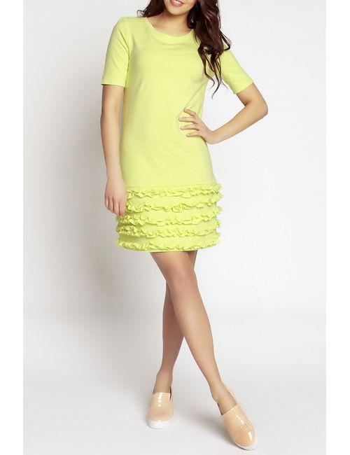NOMMO | Женское Жёлтое Платье