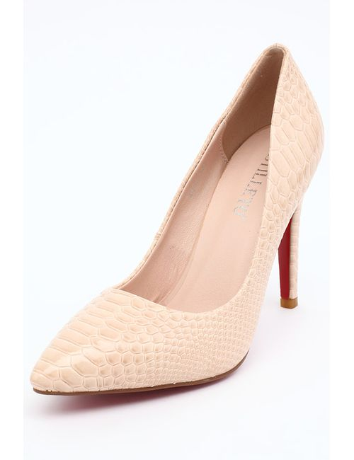 Stiletto | Женские Бежевые Туфли