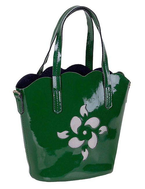Baggini | Женская Зелёная Сумка