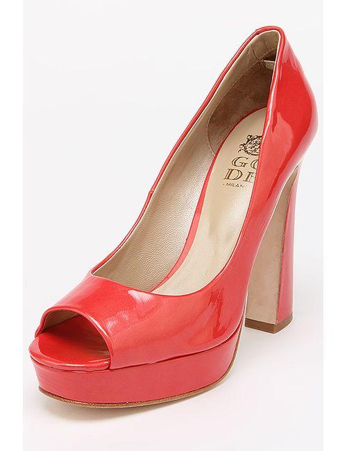 Gode | Женские Красные Туфли