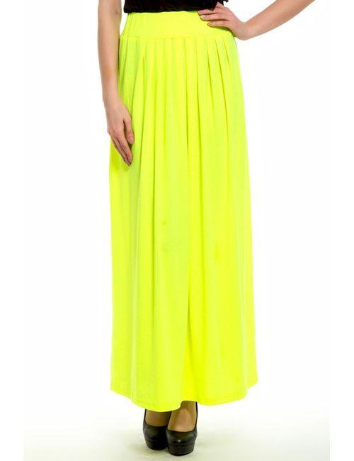 Majaly | Женская Жёлтая Юбка