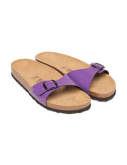 Mandel   Женские Фиолетовые Шлёпанцы