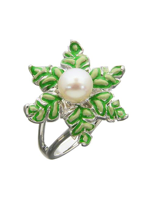 Art Style | Женское Зелёное Кольцо