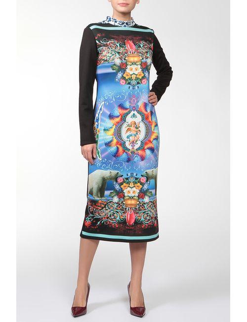 Adzhedo | Женское Синее Платье Медведи