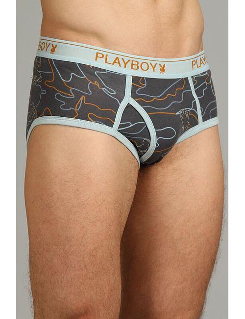 Playboy   Мужские Голубы Трусы