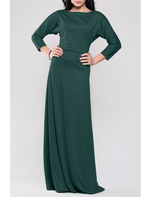 REBECCA TATTI   Женское Зелёное Платье
