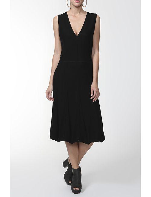 Valentino | Женское Черный Платье Вязаное