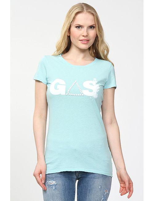Gas | Женская Голуба Футболка