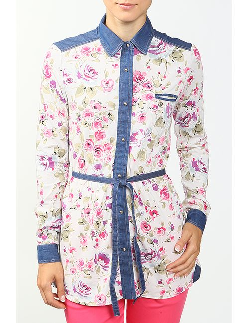 Gaudi | Женская Многоцветная Рубашка