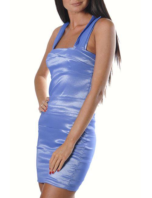 Ce.Me | Женское Синее Платье