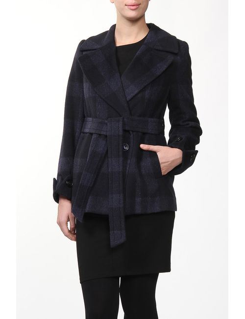 Амулет | Женское Синее Пальто