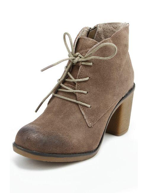 Betsy | Женские Коричневые Ботинки