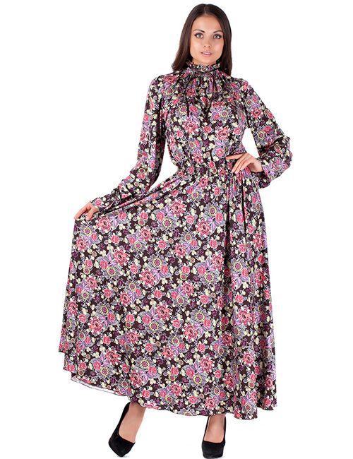 Mannon | Женское Коричневое Платье