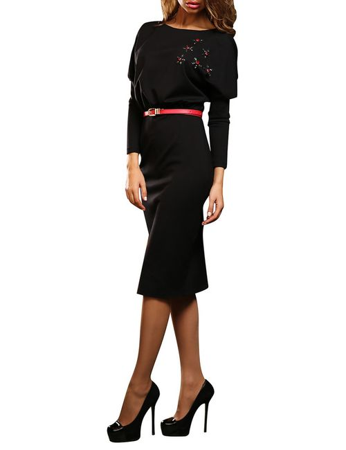 Bezko | Женское Чёрное Платье