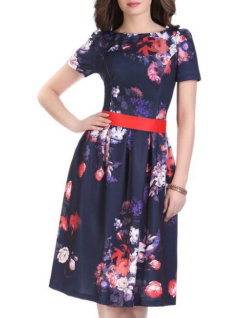 Olivegrey   Женское Синее Платье