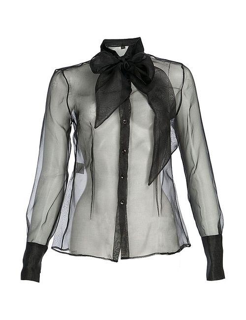 Rococo   Женская Чёрная Блуза