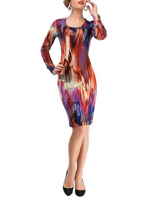 LEBBEL | Женское Многоцветное Платье