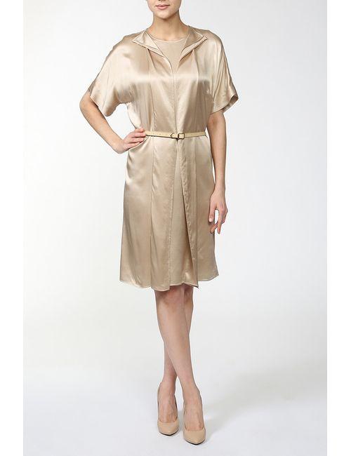 Stella Mccartney   Женское Многоцветное Платье С Поясом