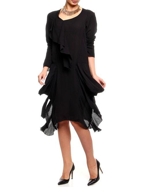 Marni | Женское Чёрное Платье