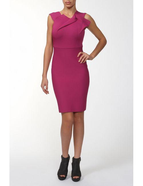 Roland Mouret | Женское Розовое Платье