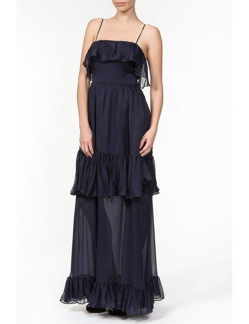 Halston Heritage | Женское Синее Платье