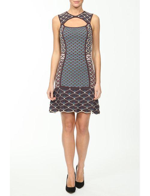 Missoni | Женское Многоцветное Платье Вязаное