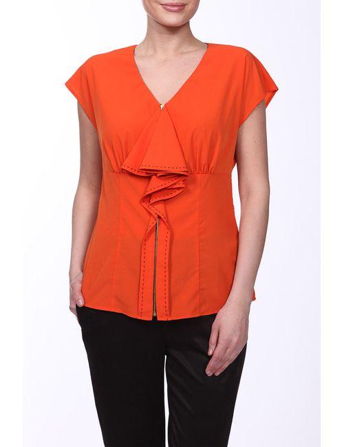 E.LEVY | Женская Оранжевая Блузка