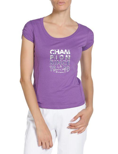 Champion | Женская Фиолетовая Футболка