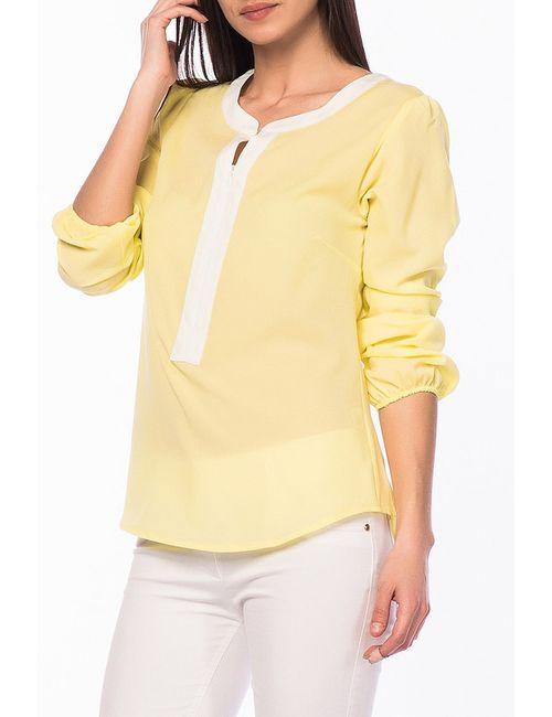 Duse | Женская Жёлтая Блуза