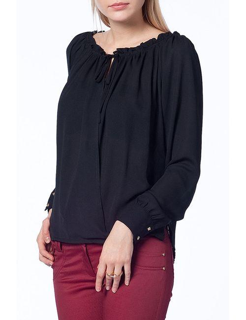 Duse | Женская Чёрная Блуза