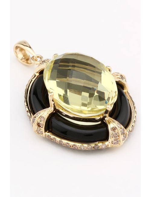 Magic Diamonds | Женская Жёлтая Подвеска