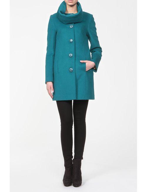 Анора | Женское Голубой Пальто